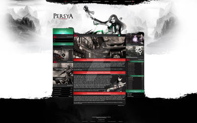 Persya - Webdesign Project by LA-Graphic