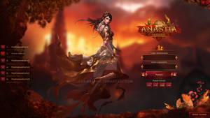 MMORPG Game - Login Interface