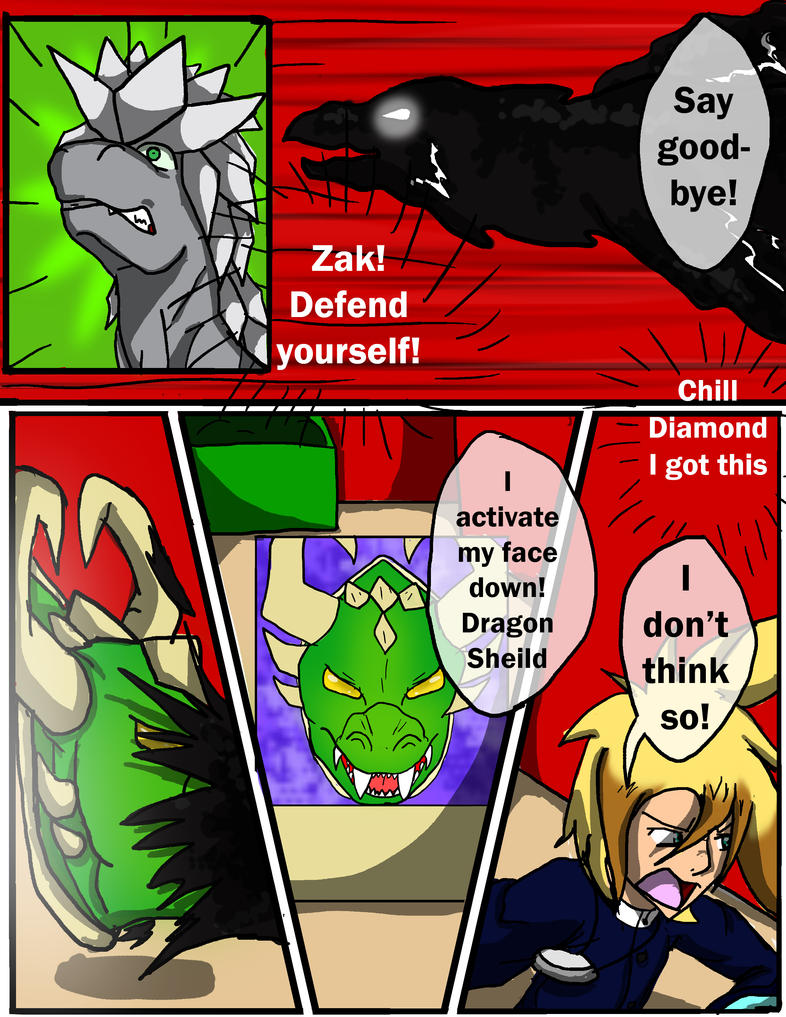 yugioh Crescent Night chapter 2 page 25 by animefan110