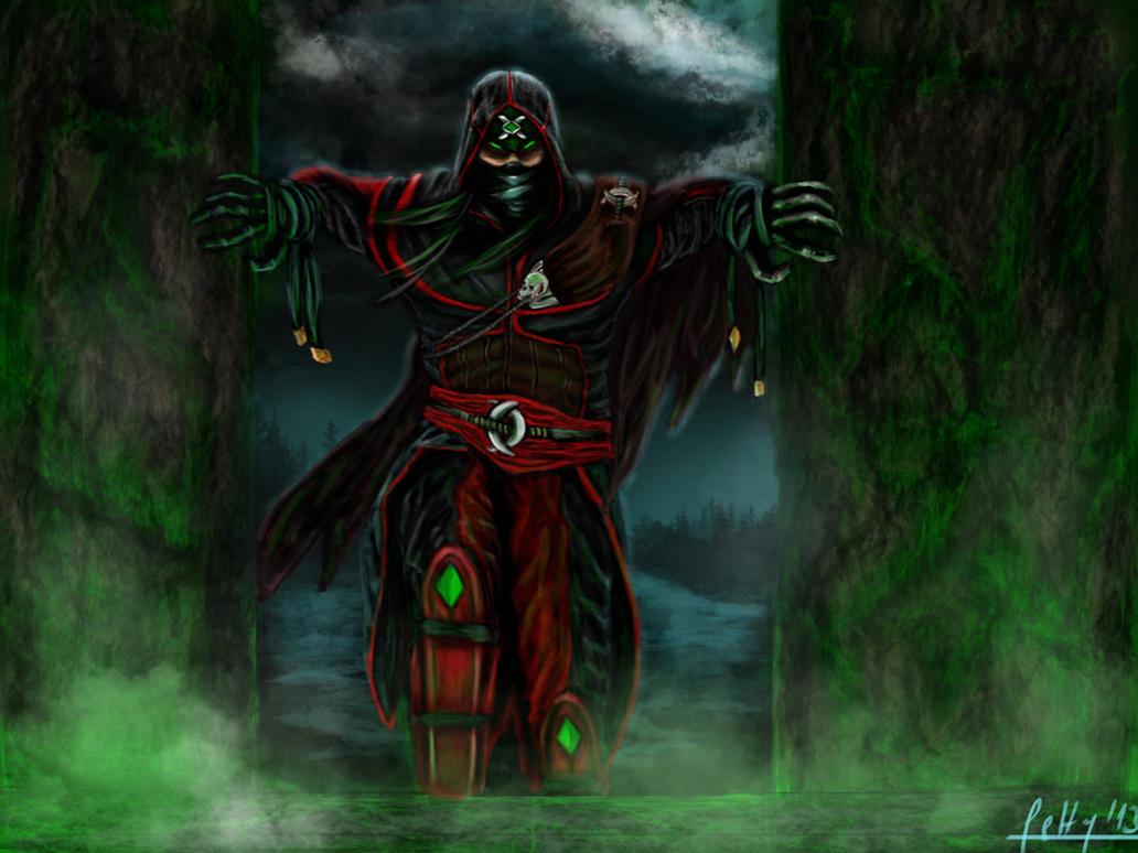 ermac as assassin by letticiamaer on deviantart