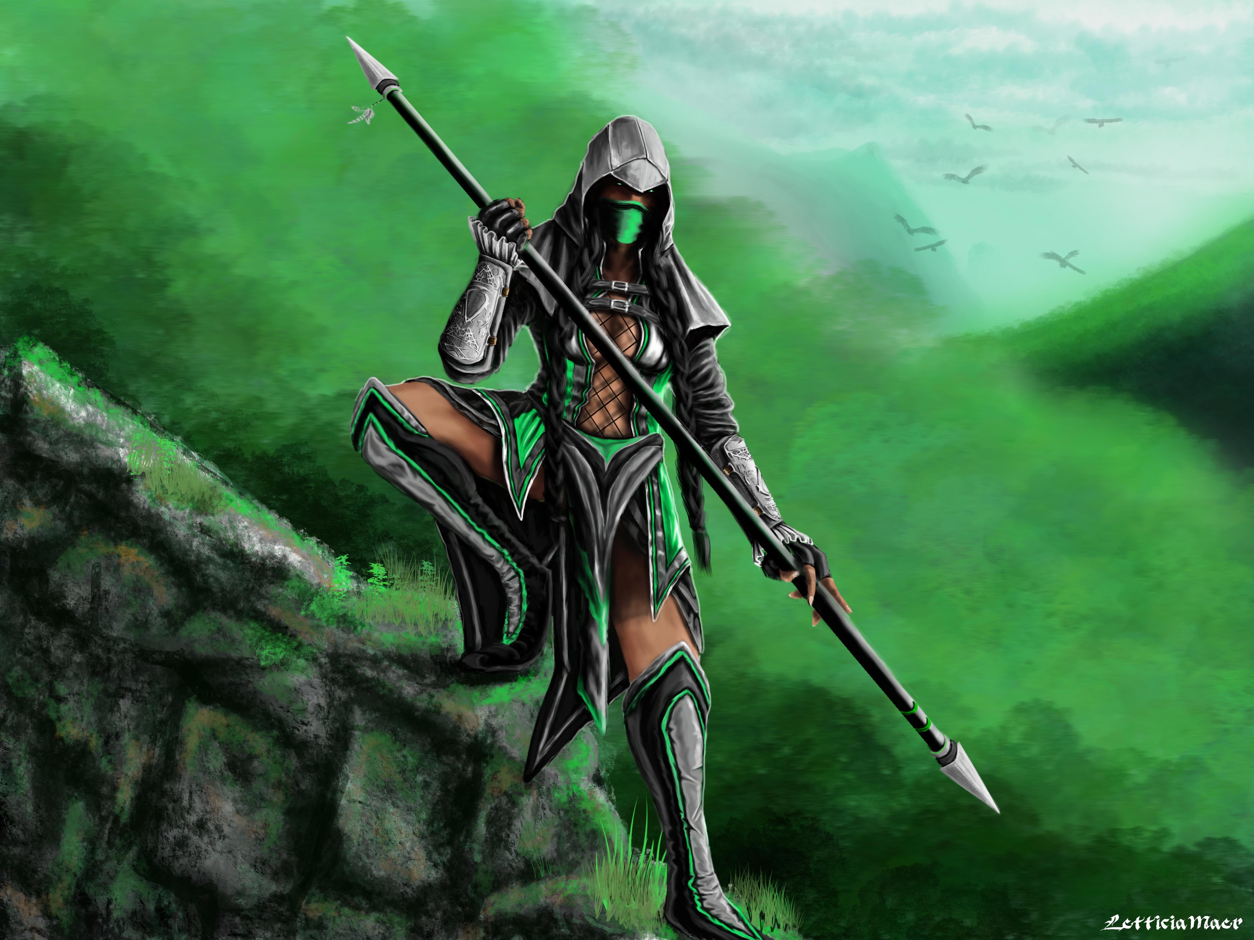 Taller de Silver Von Kenneth (diseñador: Leonel Racovich) - Página 13 Assassin_jade_by_letticiamaer-d637btr