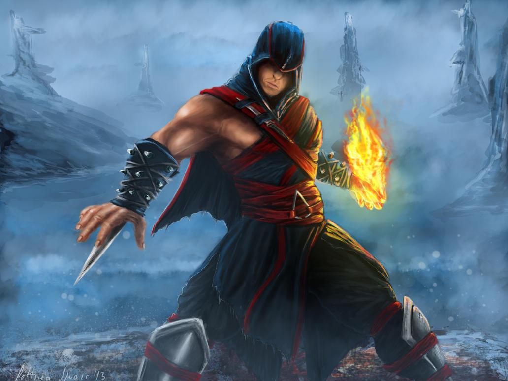 Mortal Kombat Online Mortal Kombat X Liu Kang Hooded Rogue