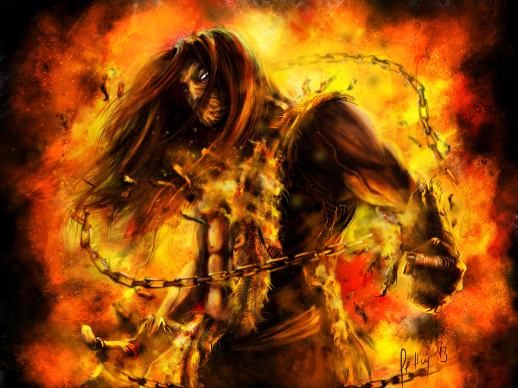 [concept art]Ajude a dar vida ao Flame Scorpion_mk_by_letticiamaer-d6w2h1a