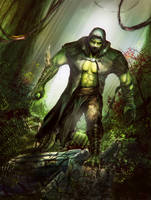Jungle predator Reptile by LetticiaMaer