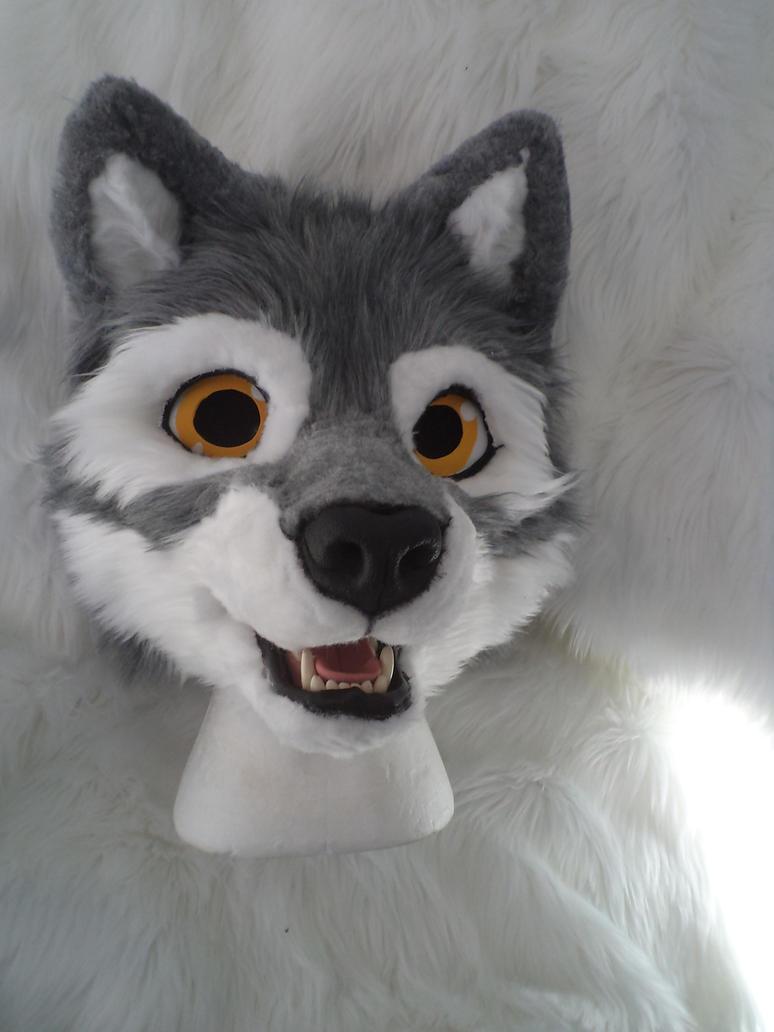 WIP - Fursuit Head - Wolf by YaikoAkita