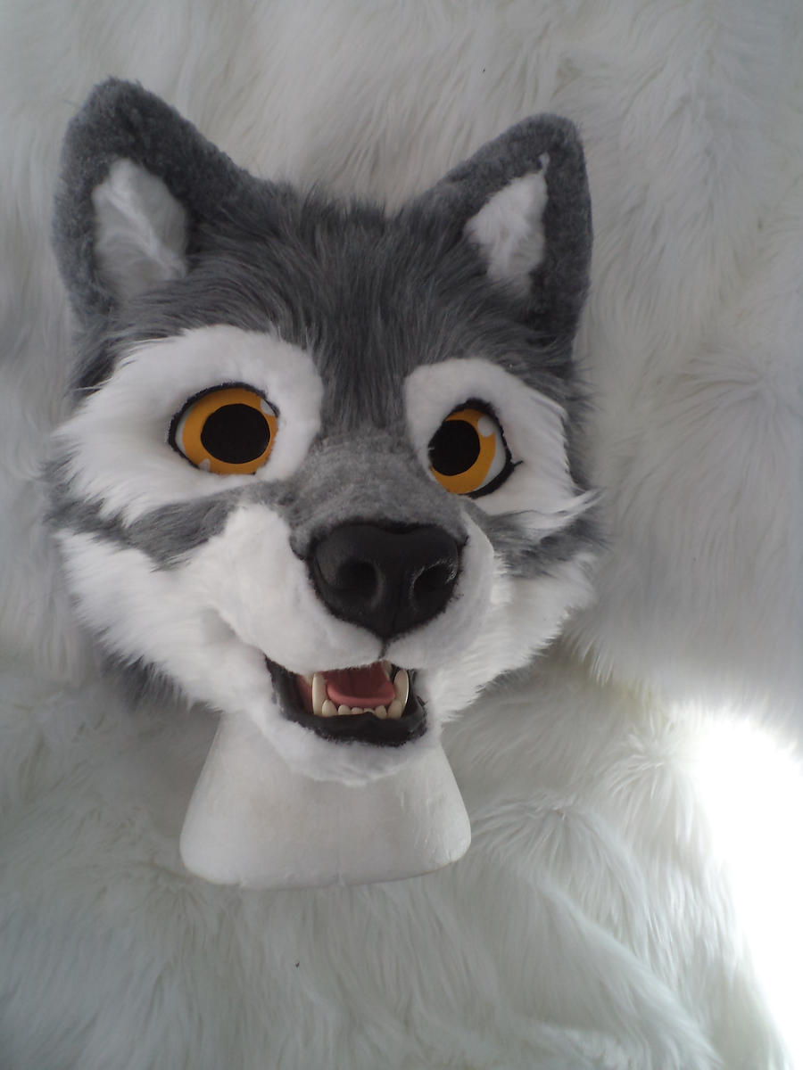 WIP - Fursuit Head - Wolf by YaikoAkita