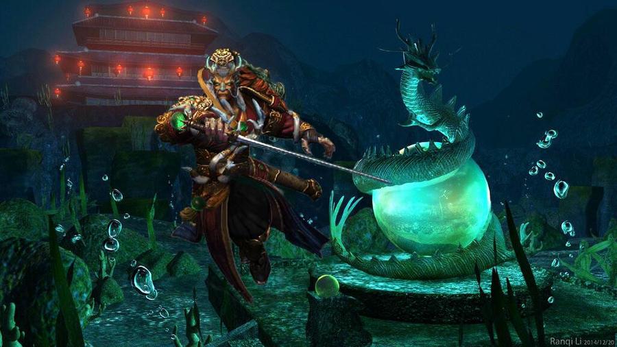 Smite Ao Kuang Sacred Dragon 29048 | IMGFLASH