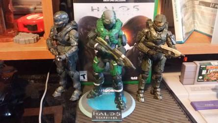 Halo 5 3D prints Spartan by Jetgoshi