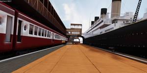 RMS TITANIC Southampton Dock