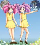 Twin Moon Princesses, Sundress