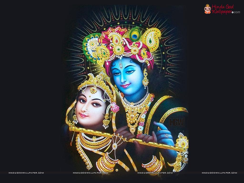 1102 Shree-krishna-black-wallpaper by