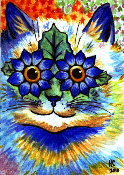 Ink Blue Art Painting Animals Shop