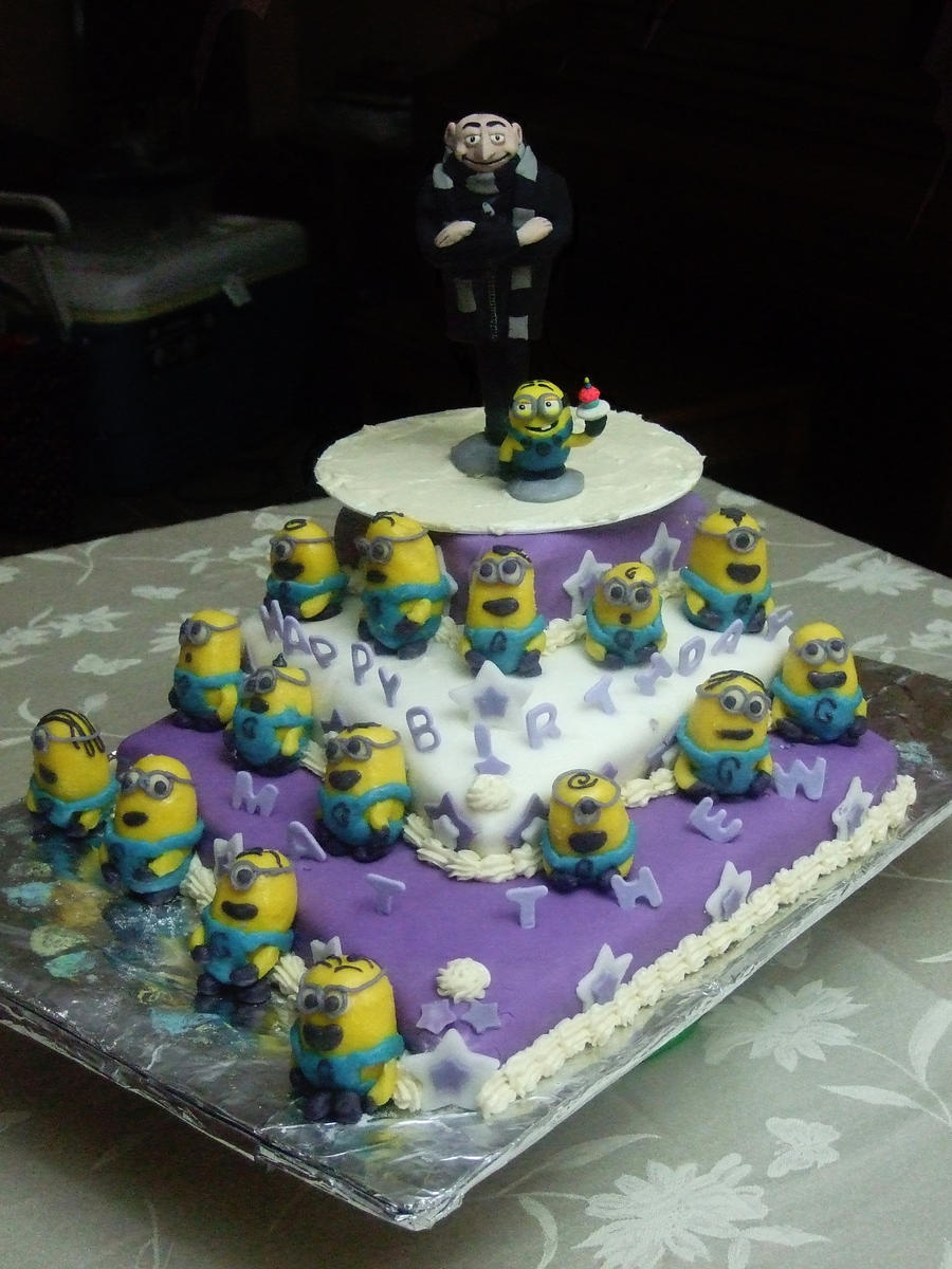 Despicable Me Cake by ratgirl84 on DeviantArt