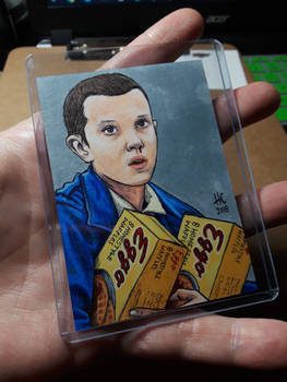 Eleven the Waffle Hoarder