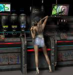 Dystopian bar