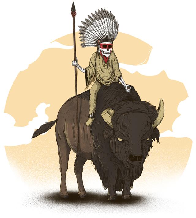 Sioux Revenge by sebasebi