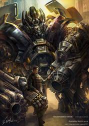 Transformers movie - Ironhide by GoddessMechanic