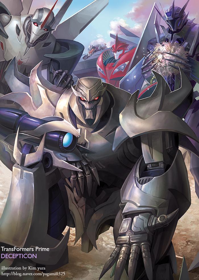 [Pro Art et Fan Art] Artistes à découvrir: Séries Animé Transformers, Films Transformers et non TF - Page 4 Transformers_prime_dicepticon_by_goddessmechanic-d4ab5sh