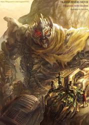 Transformers movie - Megatron by GoddessMechanic
