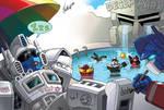 TF fanart - Autobots vacation