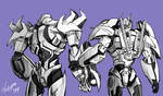TFP Optimus , Megatron -2