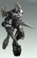 Transformers movie - Sideswipe by GoddessMechanic
