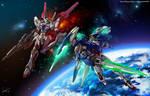 Gundam OO fanart