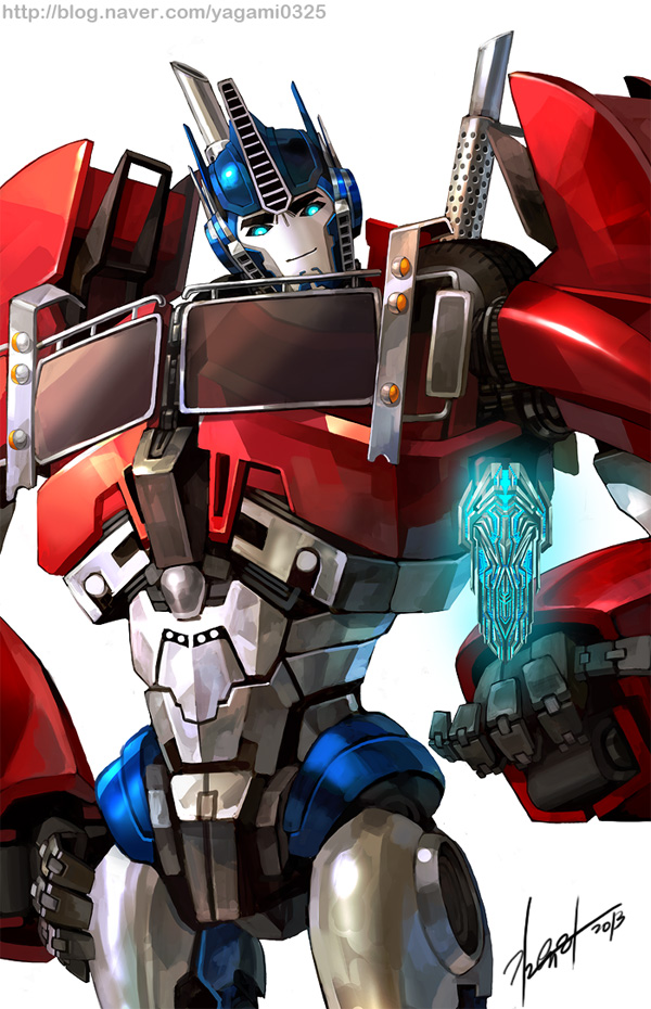 TFP - Optimus prime by GoddessMechanic