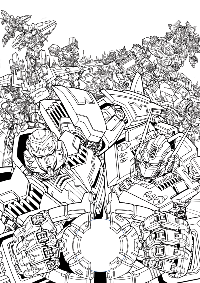 TF fan art - Till all are one Sketch by GoddessMechanic