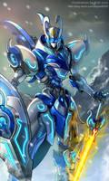 Mechanical warriors V - Mnemosyne by GoddessMechanic