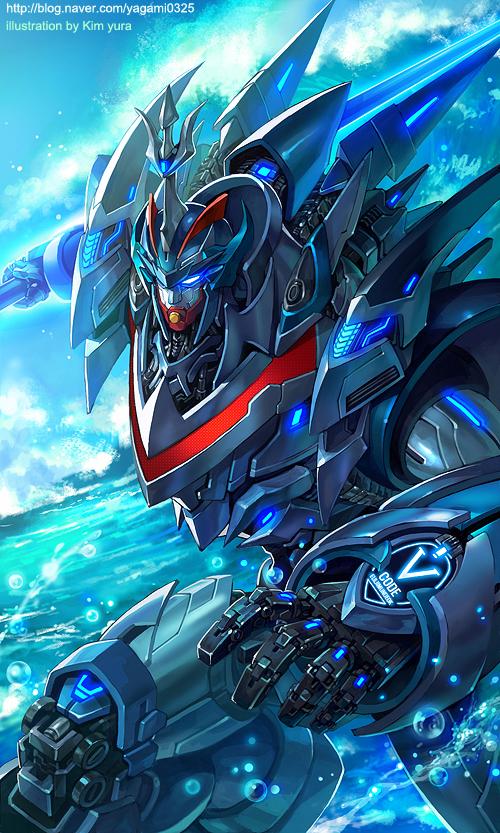 Mechanical warriors V - TaekwonV by GoddessMechanic