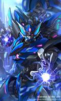 Mechanical warriors V - Poseidon by GoddessMechanic