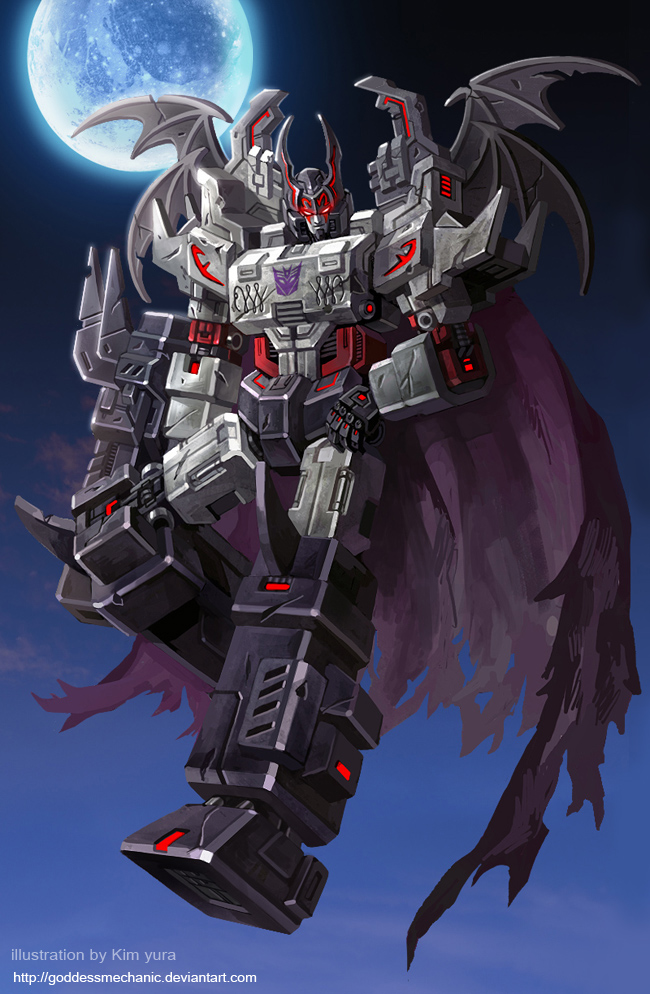 Megatron - Halloween Ver. by GoddessMechanic