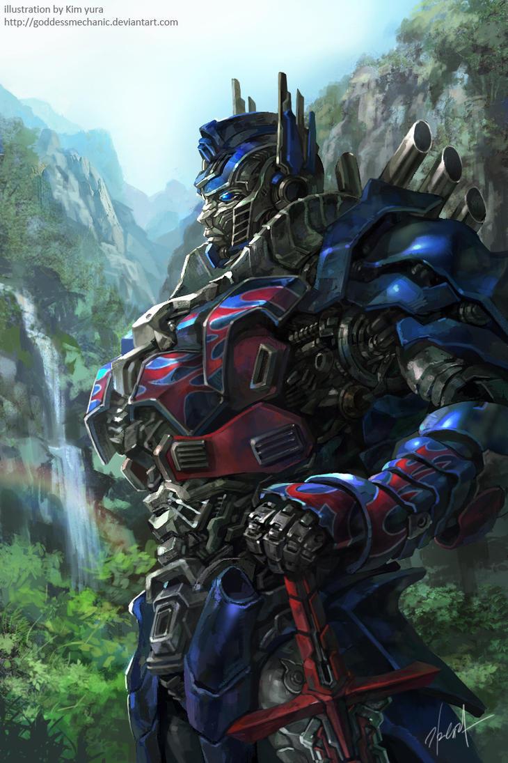 TF4 Optimus prime fan art by GoddessMechanic