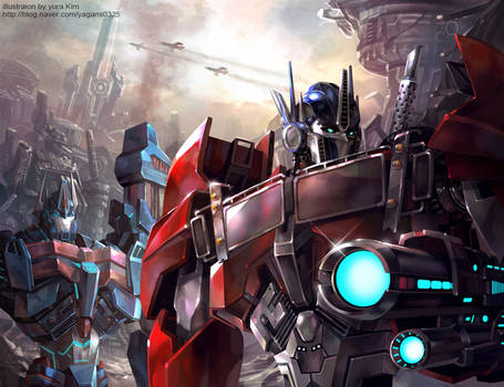 War of the Cybertron - Transformers Prime version