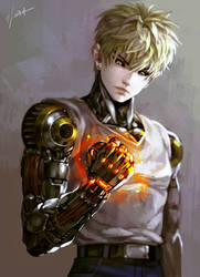 ONE PUNCH MAN - Genos by GoddessMechanic
