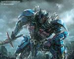 TF5 Optimus prime fan art