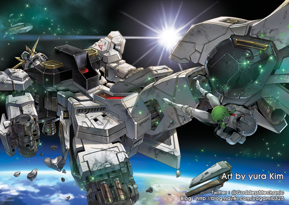 RX93 Gundam my illustration