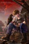 Web novel cover art