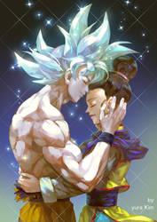 Dragoball Super - Son goku and ChiChi by GoddessMechanic