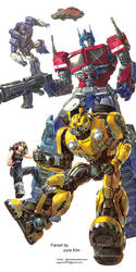 Transformers bumblebee by GoddessMechanic