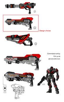 commission - Big gun