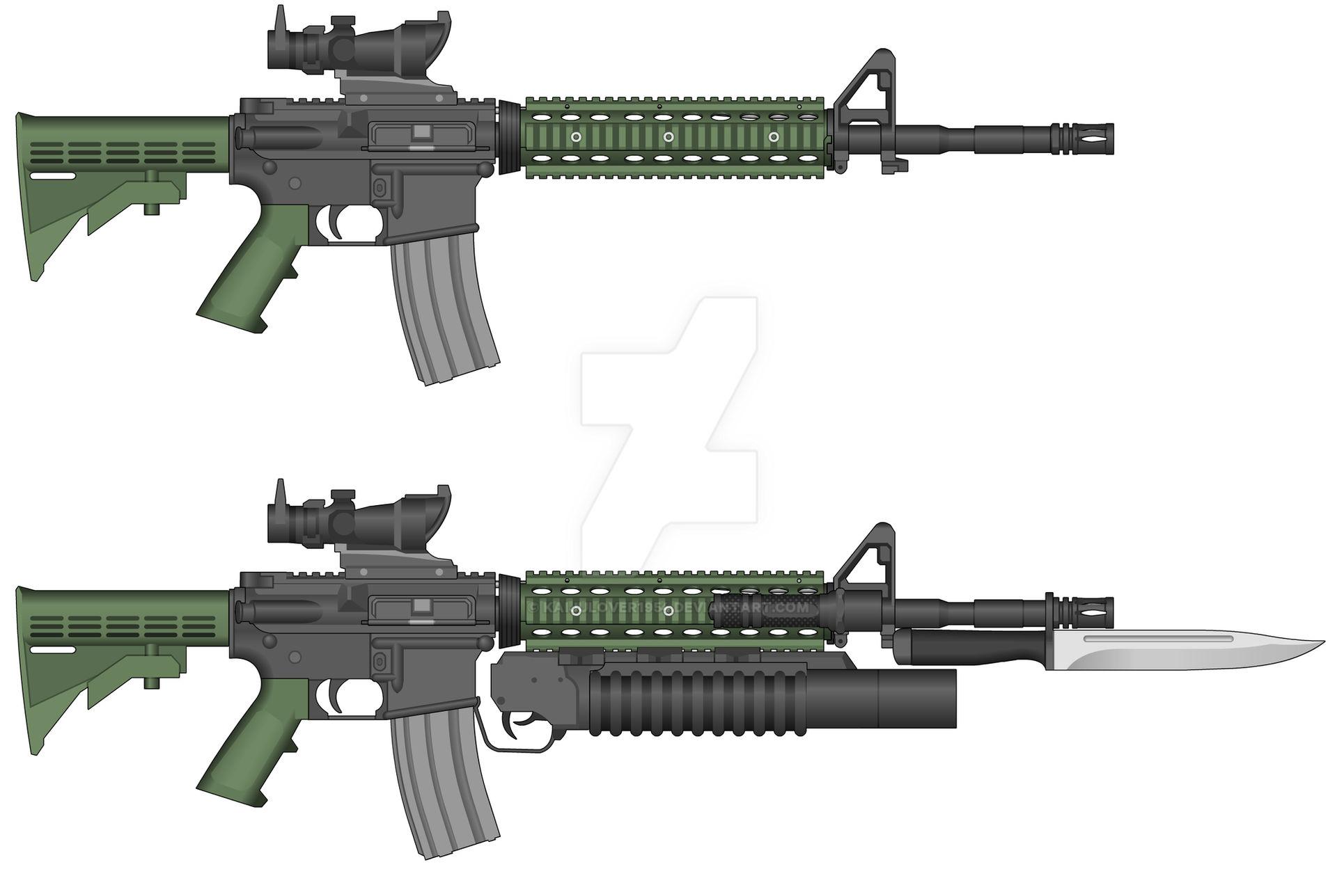 Resident Evil Vendetta M4a1 Carbine By Kaijulover1954 On Deviantart