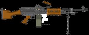 Resident Evil 6 Hybrid Machine Gun