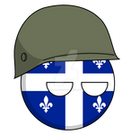 Quebecball (Militaire - Military) by KaijuLover1954