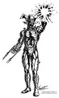 ROBOT ARMOR GUY