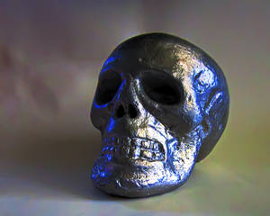 Aluminum Skull