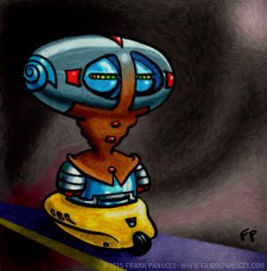 Robot Wheelie