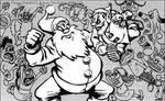 Santa vs. Elf