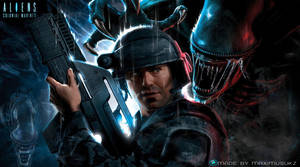 Alien colonial marines background